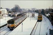 A snowy scene at Hatton