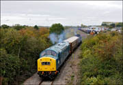 40145 leaving Long Marston