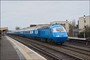 Blue Pullman at Leamington Spa